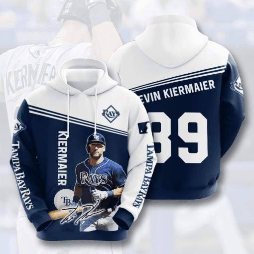 MLB Tampa Bay Rays 3D Hoodie V5