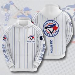 MLB Toronto Blue Jays 3D Hoodie V5
