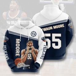 NBA New Orleans Pelicans 3D Hoodie V5