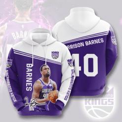 NBA Sacramento Kings 3D Hoodie V5