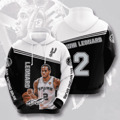 NBA San Antonio Spurs 3D Hoodie V5