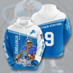 NFL Detroit Lions 3D Hoodie V5