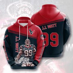 NFL Houston Texans 3D Hoodie V6