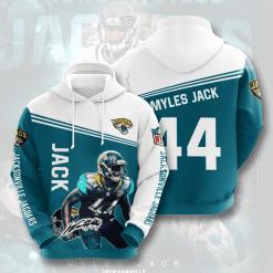 NFL Jacksonville Jaguars 3D Hoodie V6