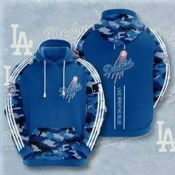 MLB Los Angeles Dodgers 3D Hoodie V6