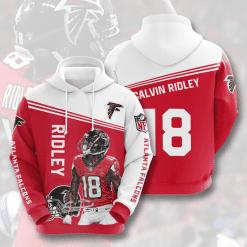 NFL Atlanta Falcons 3D Hoodie V6