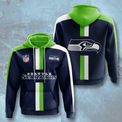 NFL Seattle Seahawks 3D Hoodie V6
