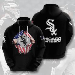 MLB Chicago White Sox 3D Hoodie V6