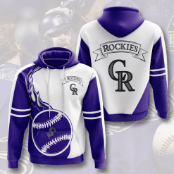 MLB Colorado Rockies 3D Hoodie V6