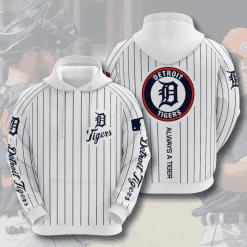MLB Detroit Tigers 3D Hoodie V6