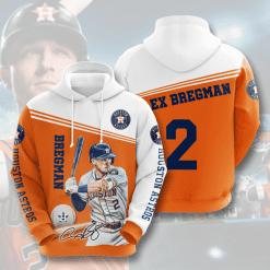 MLB Houston Astros 3D Hoodie V6