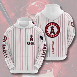 MLB Los Angeles Angels 3D Hoodie V6