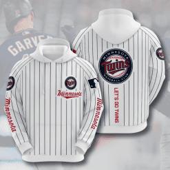 MLB Minnesota Twins 3D Hoodie V6