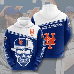 MLB New York Mets 3D Hoodie V6