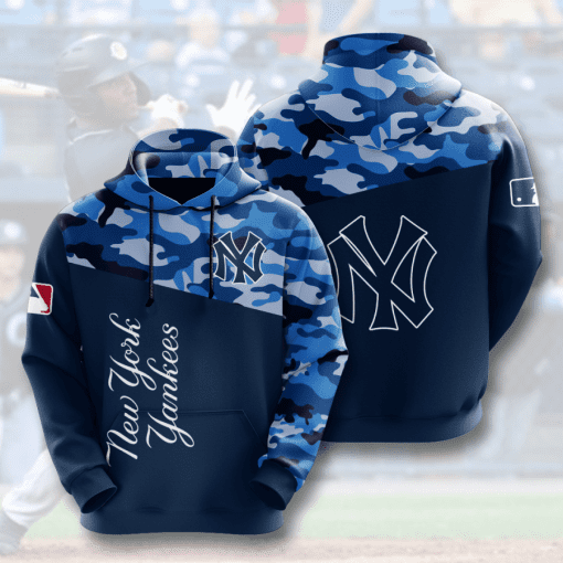 MLB New York Yankees 3D Hoodie V6