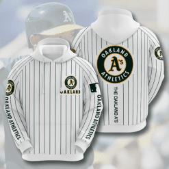 MLB Oakland Athletics 3D Hoodie V6