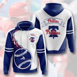 MLB Philadelphia Phillies 3D Hoodie V6