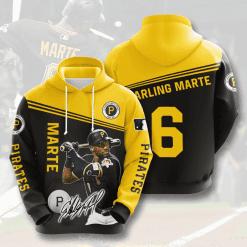 MLB Pittsburgh Pirates 3D Hoodie V6