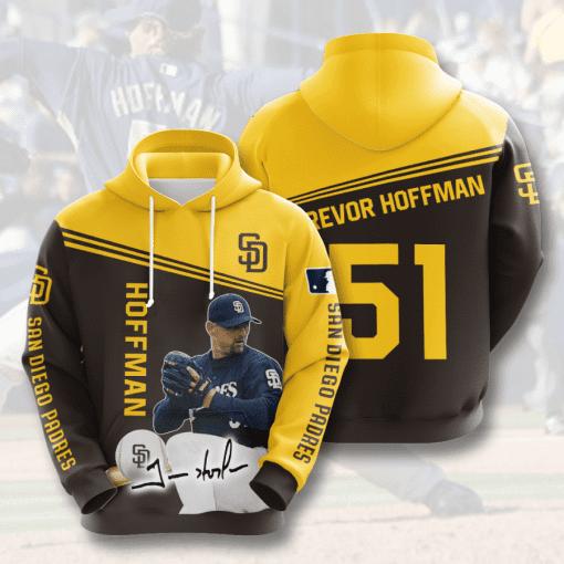 MLB San Diego Padres 3D Hoodie V6
