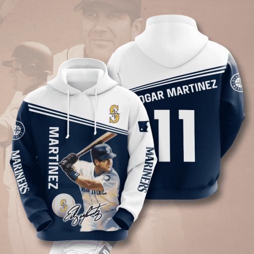 MLB Seattle Mariners 3D Hoodie V6