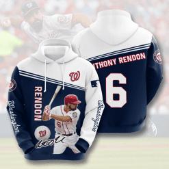 MLB Washington Nationals 3D Hoodie V6