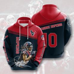 NFL Houston Texans 3D Hoodie V7