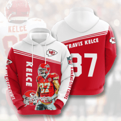 NFL Kansas City Chiefs 3D Hoodie V7