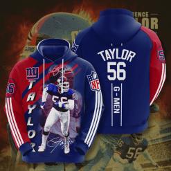 NFL New York Giants 3D Hoodie V7