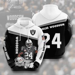 NFL Oakland Raiders 3D Hoodie V7