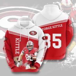 NFL San Francisco 49ers 3D Hoodie V7
