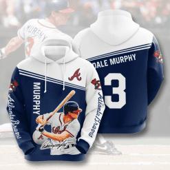MLB Atlanta Braves 3D Hoodie V7