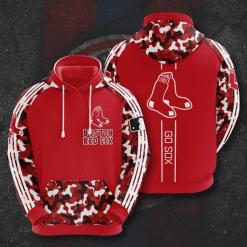 MLB Boston Red Sox 3D Hoodie V7