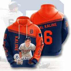 MLB Detroit Tigers 3D Hoodie V7