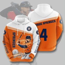 MLB Houston Astros 3D Hoodie V7