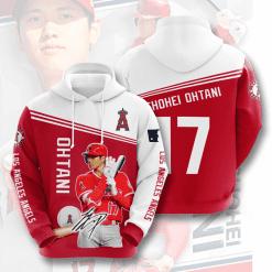 MLB Los Angeles Angels 3D Hoodie V7