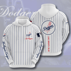 MLB Los Angeles Dodgers 3D Hoodie V7