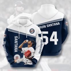 MLB Minnesota Twins 3D Hoodie V7