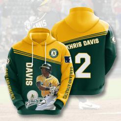 MLB Oakland Athletics 3D Hoodie V7