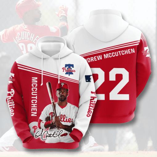 MLB Philadelphia Phillies 3D Hoodie V7
