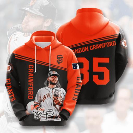MLB San Francisco Giants 3D Hoodie V7
