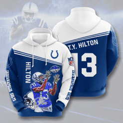 NFL Indianapolis Colts 3D Hoodie V8