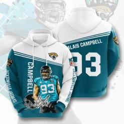 NFL Jacksonville Jaguars 3D Hoodie V8