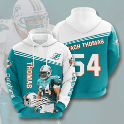 NFL Miami Dolphins 3D Hoodie V8