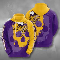 NFL Minnesota Vikings 3D Hoodie