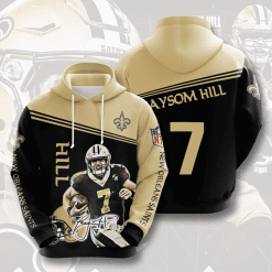 NFL New Orleans Saints 3D Hoodie V8