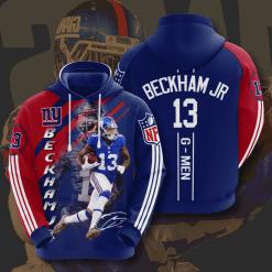 NFL New York Giants 3D Hoodie V8