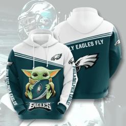 NFL Philadelphia Eagles 3D Hoodie V8
