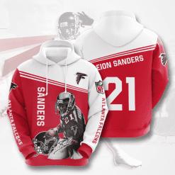 NFL Atlanta Falcons 3D Hoodie V8