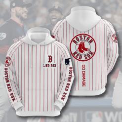 MLB Boston Red Sox 3D Hoodie V8