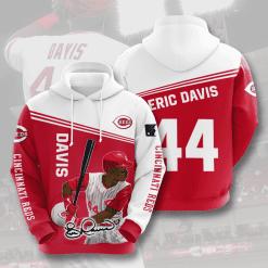 MLB Cincinnati Reds 3D Hoodie V8